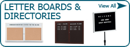 Letter Boards & Directories